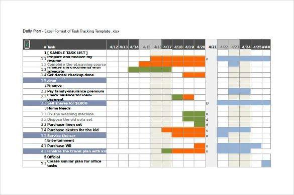 10 project tracking templates u2013 free sample example