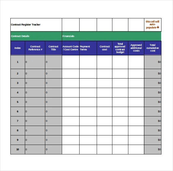 contract management excel spreadsheet - April.onthemarch.co