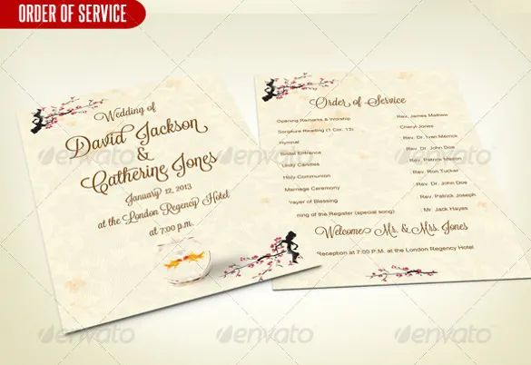wedding service templates