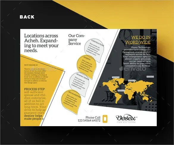 30 Brochure Examples Free PSD AI Vector EPS Format Download