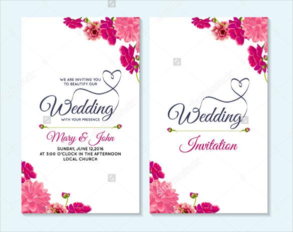 59 Wedding Card Templates Psd Ai Free Premium