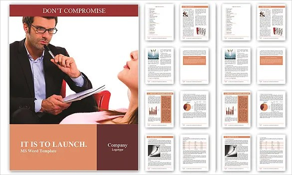 Brochure Template Word 41 Free Word Documents Download! Free
