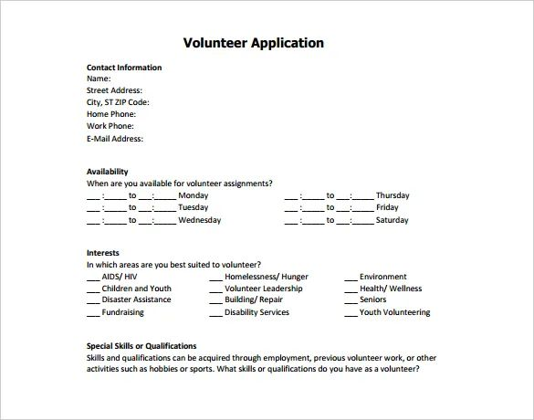 volunteer resume jobhero