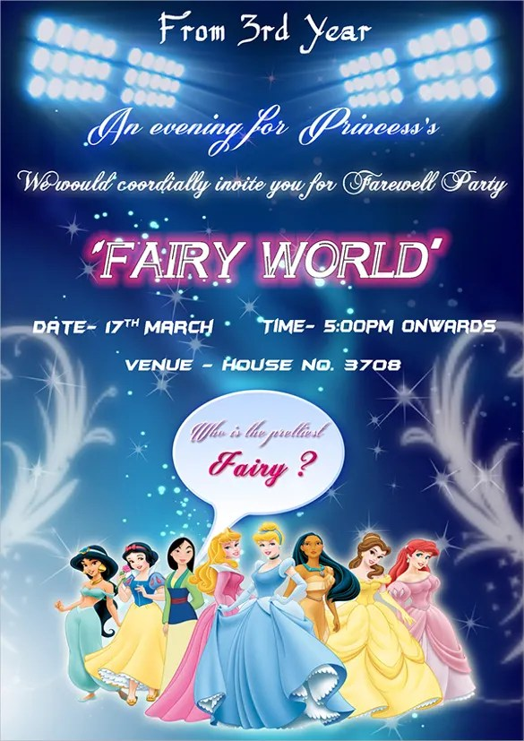 Birthday Invitations 6