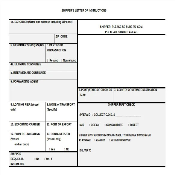 Executive Auto Shippers >> Instructions Template Word. work instruction template ...