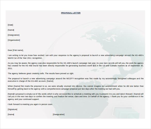 31 Proposal Templates DOC PDF Free & Premium Templates