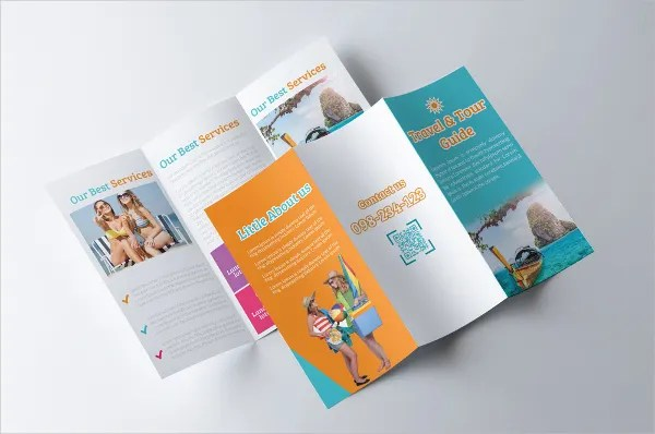 Travel Brochures – 18 PSD AI Vector EPS Format Download
