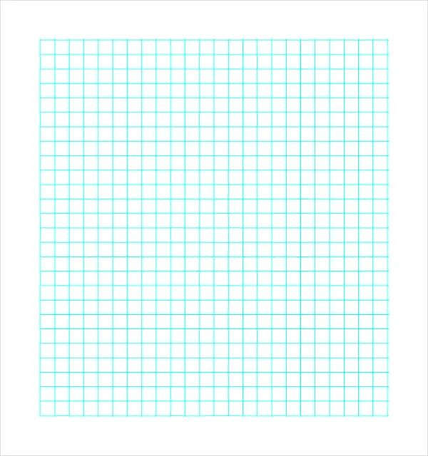 word template graph paper