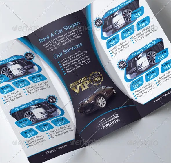 23 Car Brochure Templates Free PDF PSD AI Vector