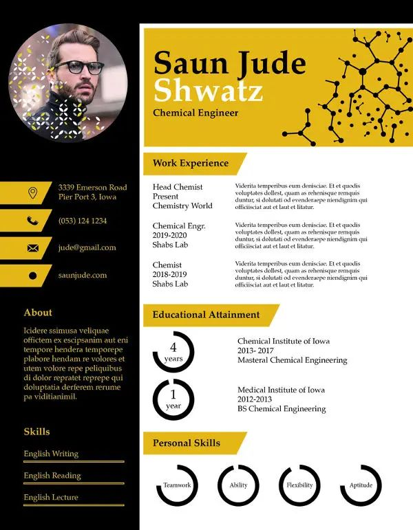 best resume templates for apple pages
