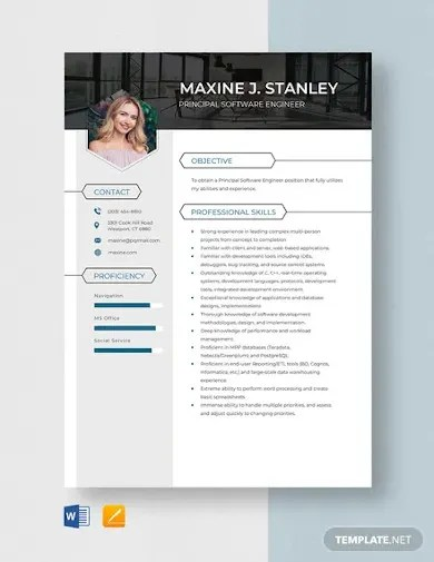 What is the best way to format your software engineer resume? Software Engineer Resume Template 14 Free Word Pdf Documents Download Free Premium Templates