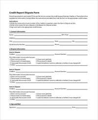 96+ Credit Report Authorization Form Template - Credit ...