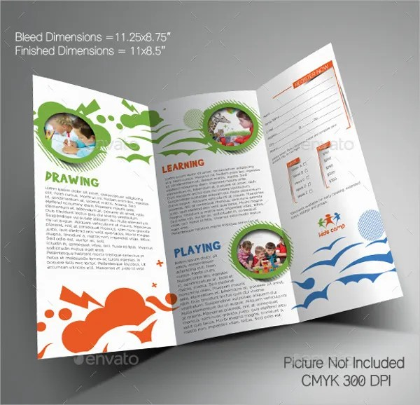 16 Summer Camp Brochures Free PSD AI EPS Format