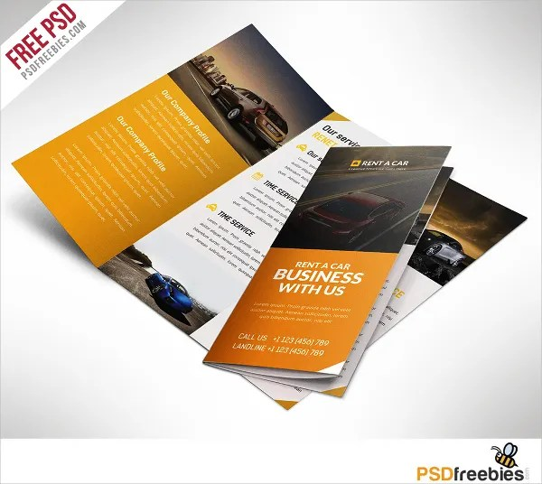 17 Automotive Brochure Templates Free PSD AI EPS