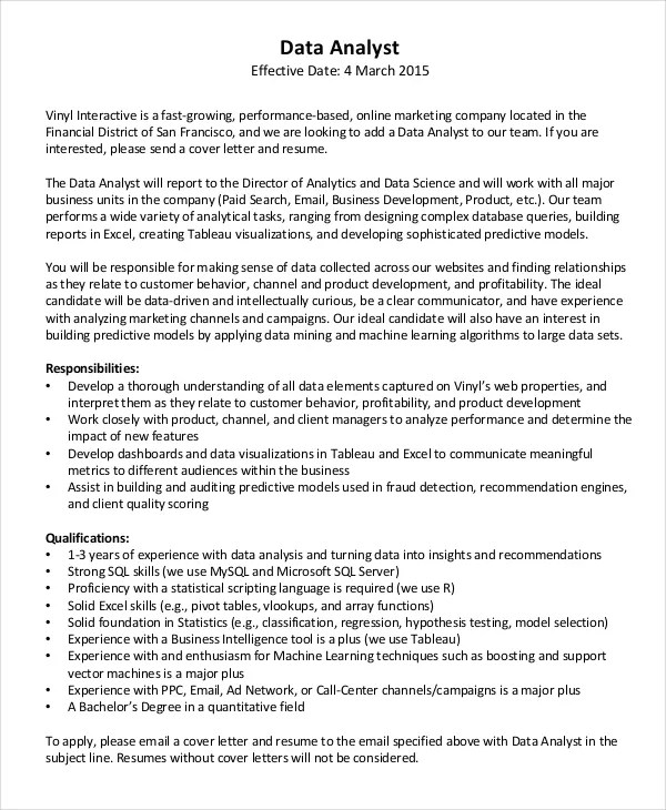 Cover Letter Template – 26 Free Word PDF Documents