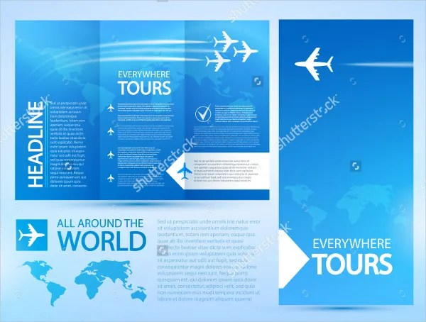 25 Travel Brochure Templates Free PSD AI EPS Format Download