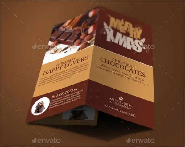 14 Chocolate Brochures Free PSD AI EPS Format