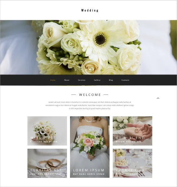 Quite pleasing to look at that is backed up with awesome features, kalon features a feminine and girlish vibe. 41 Wedding WordPress Themes Templates Free Premium Templates