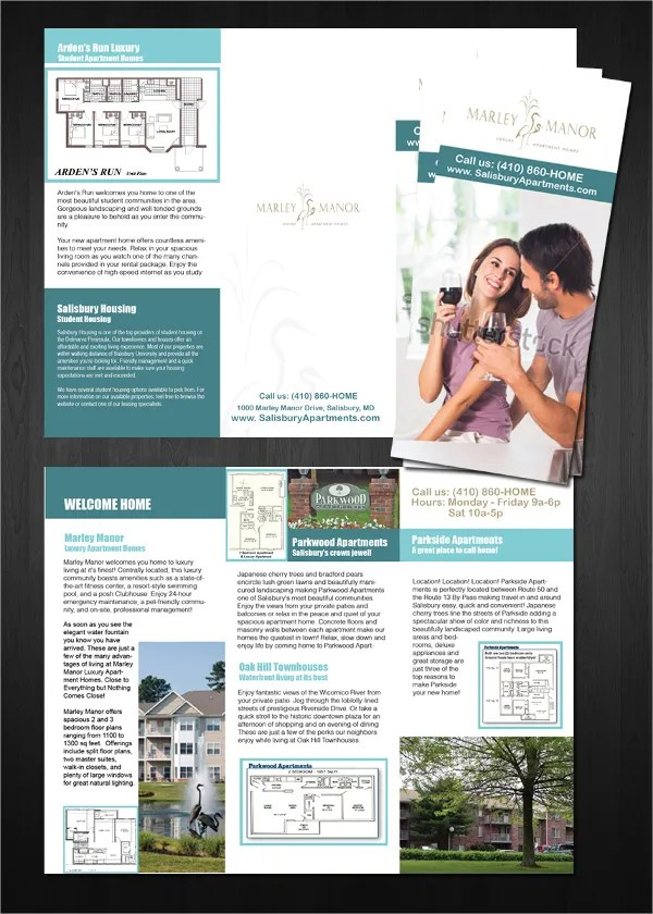 16 Apartment Brochure Templates  PSD AI Google Docs