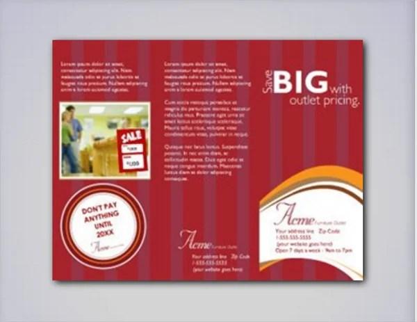 Promotional Pamphlet Templates Ideal Vistalist Co