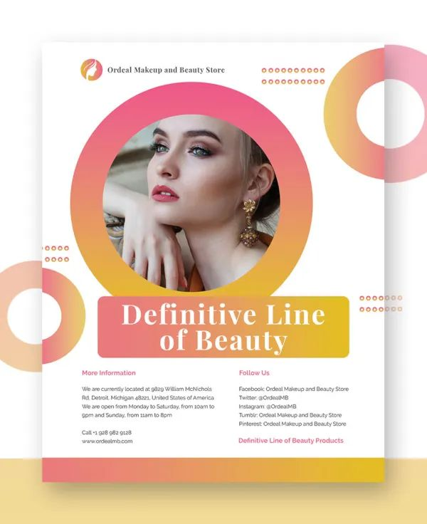free campaign flyer template