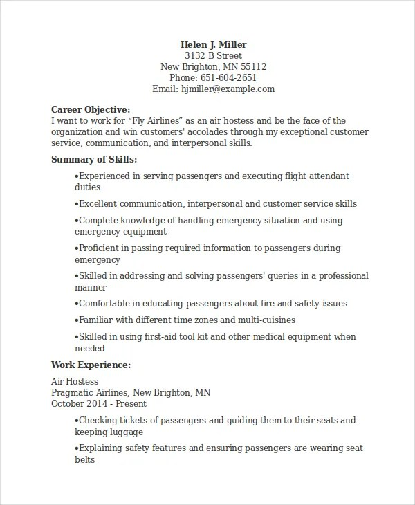 Restaurant Hostess Resume Examples  Examples Of Resumes