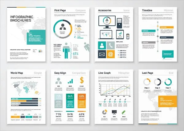 19 Infographic Brochure Templates Free PSD AI EPS