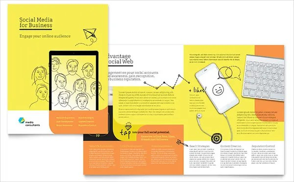 18 Consultant Brochures Templates Free PSD AI EPS