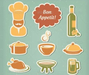 icons restaurant menu eps format vector layered ideally suited menus these