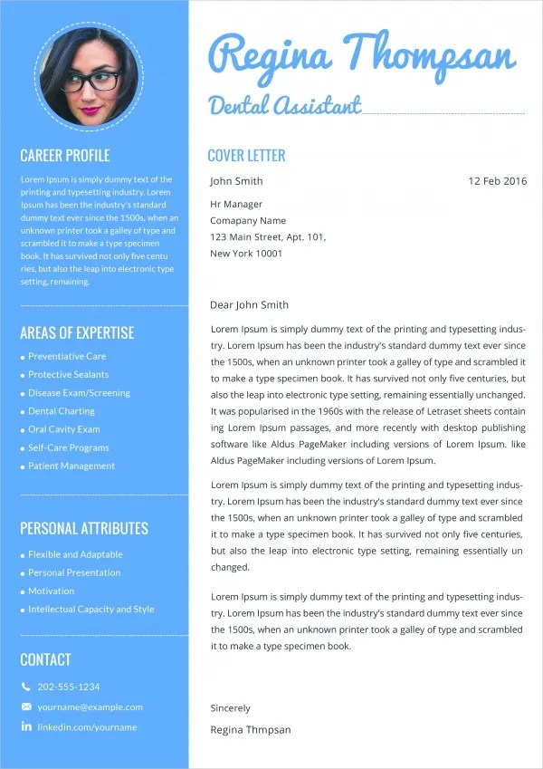 21 Cover Letter  Free Sample Example Format  Free  Premium Templates