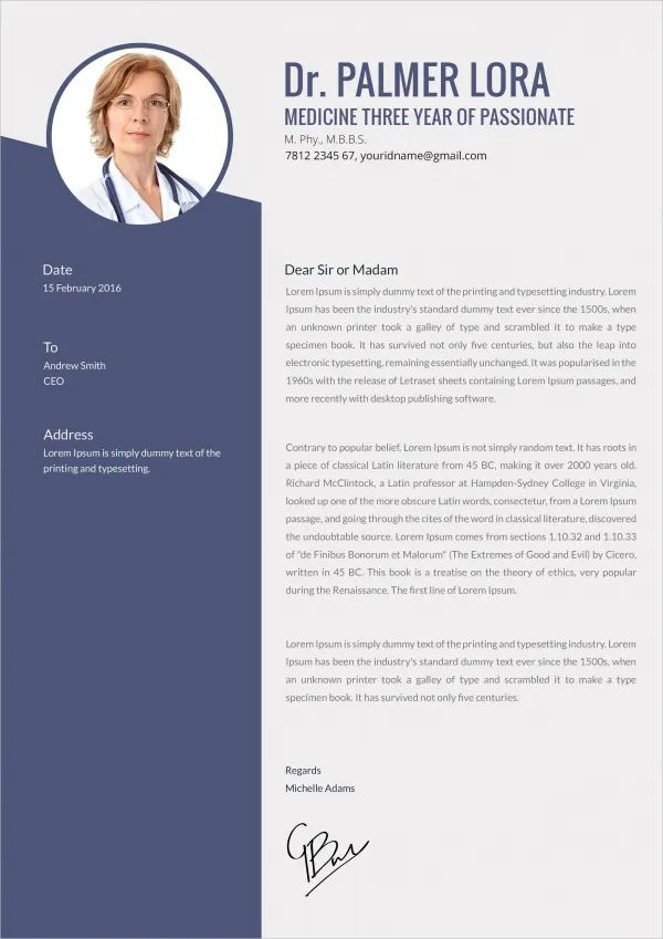 template motivation letter
