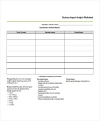 Impact Analysis Template - 11+ Free Word, PDF Documents ...