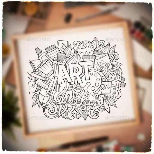 35 Imaginative Doodle Art Designs Free Amp Premium Templates