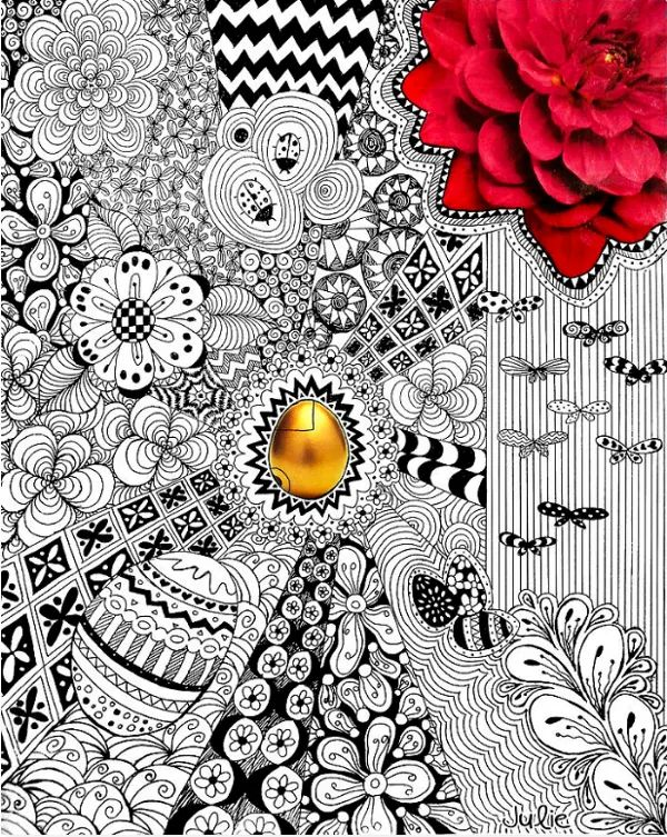 doodle art templates