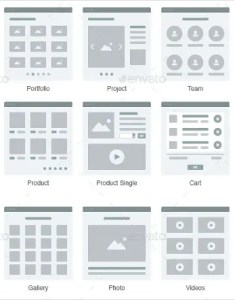 Minimal web flowchart also productive ux templates free  premium rh template