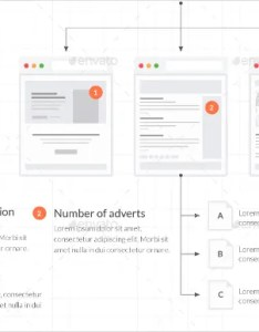 Web tiles for wireframes and flowcharts  also productive ux flowchart templates free  premium rh template
