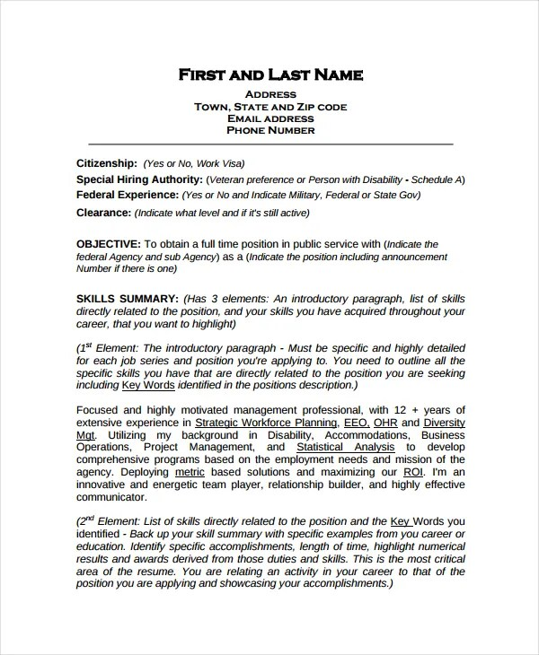 10 Work Resume Templates PDF DOC Free & Premium