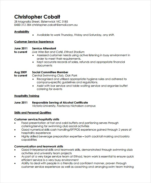resume format work experience open office budget templates free