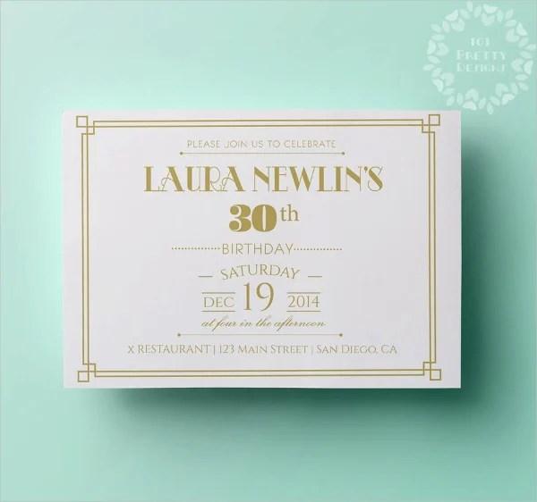18 elegant invitation templates psd