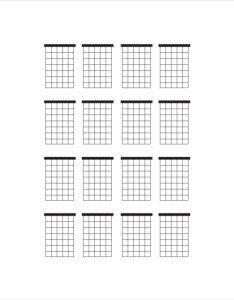 Large blank guitar chord chart also template free pdf documents download rh