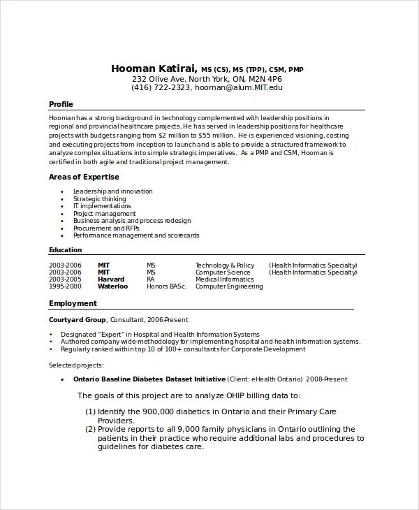 11 Computer Science Resume Templates PDF DOC Free
