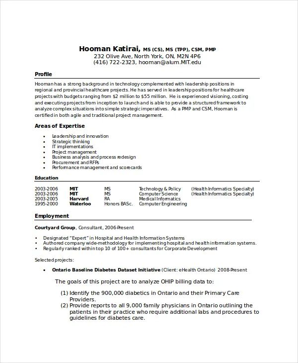 computer science graduate student resume templates