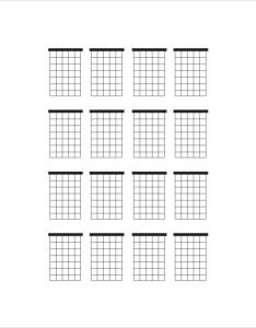 Blank chord chart also canre klonec rh