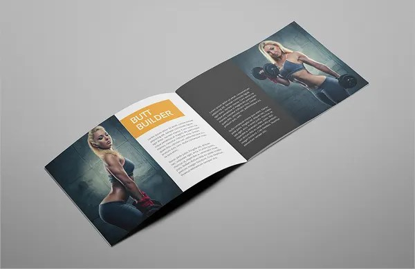 17 Gym Brochure Templates Free PSD AI Vector EPS