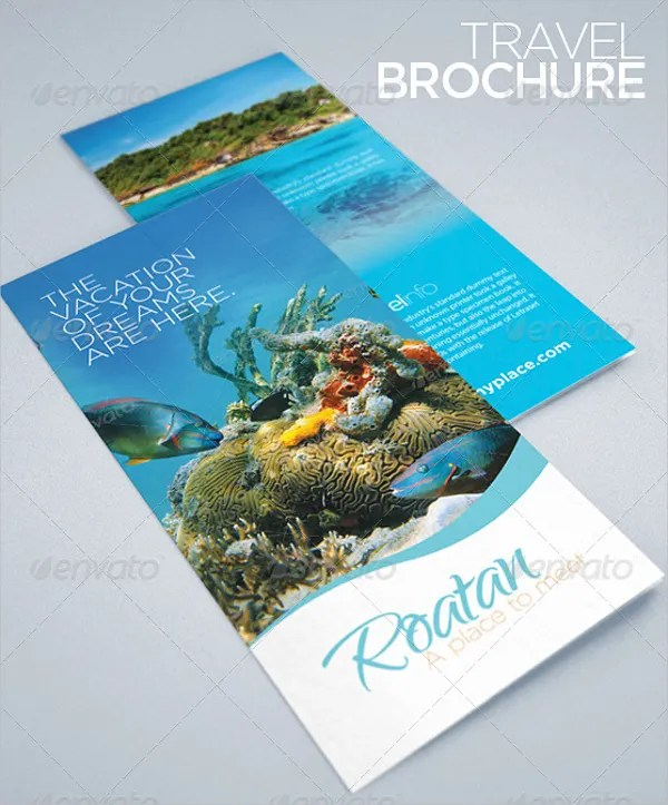11 Tourism Brochures Free PSD AI EPS Format Download