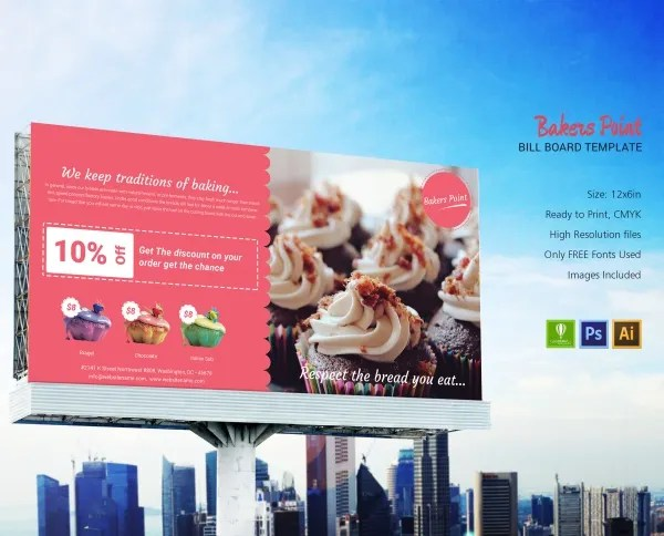 30 Bakery Templates Psd Ms Word Publisher Free