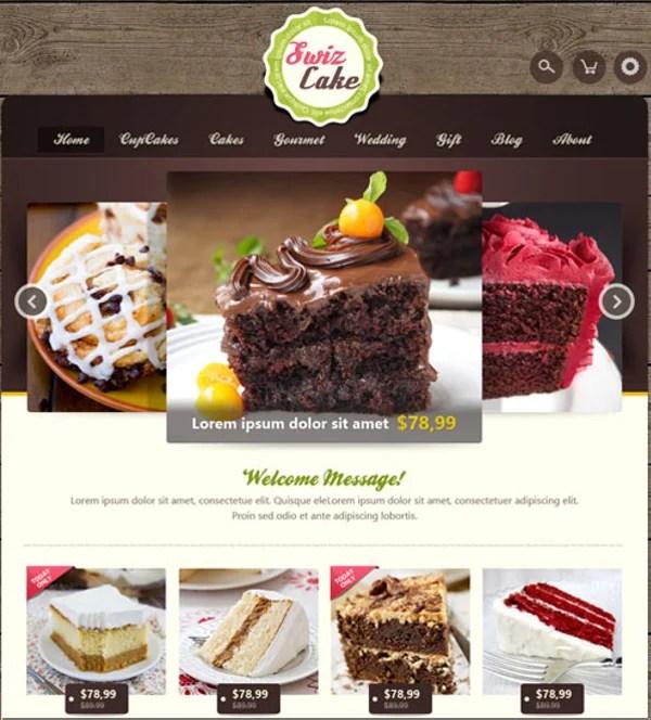 24 Cake Website Themes Templates Free Premium Templates