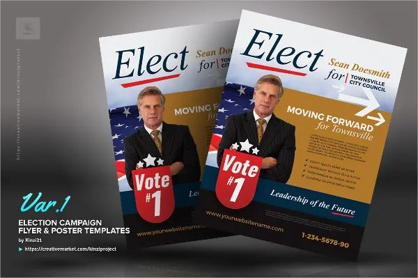 sample flyers for election