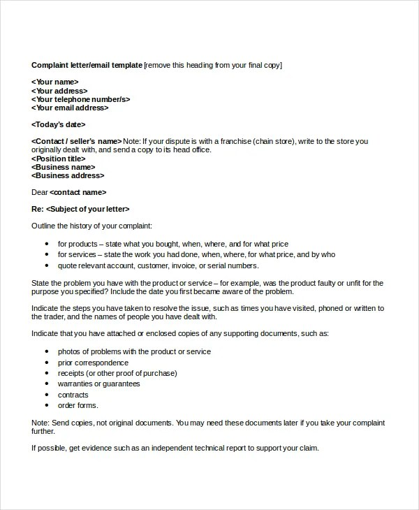 Cover Letter Format  17 Free Word PDF Documents Download  Free  Premium Templates
