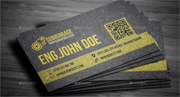 25 Automotive Business Card Templates  Ms Word Illustrator Apple Pages  Free  Premium